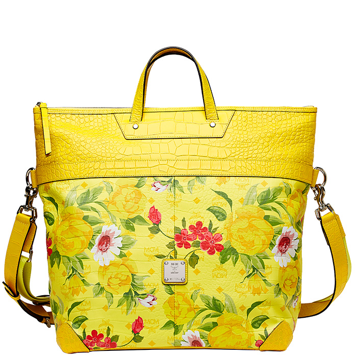 Blume-Paradiso-Flower-Tote-Yellow