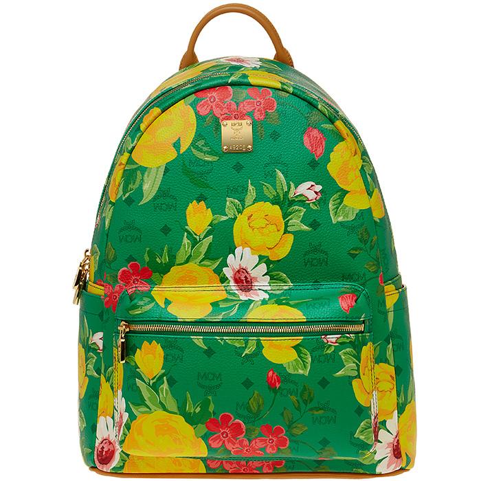Blume-Paradiso-Flower-Visetos-Backpack-Green-1