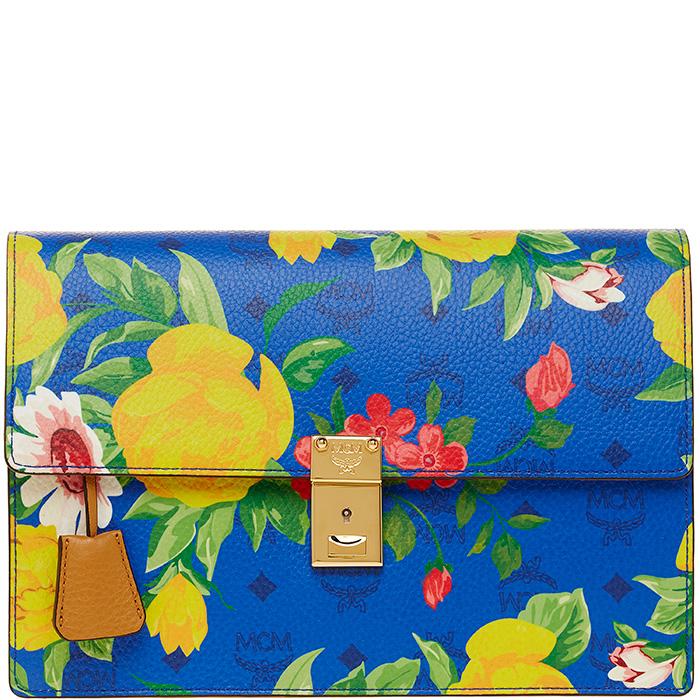 Blume-Paradso-Flower-Shoulder-Clutch-Blue-1